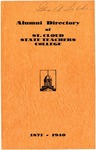 Alumni Directory of St. Cloud State Teachers College, 1871-1940