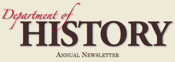 Department of History Newsletter