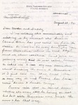 Letter, Virginia Brainard to Dudley and Merl Brainard [August 20, 1940]