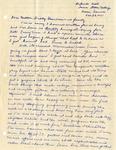 Letter, Virginia Brainard to Dudley, Merl, Nellie Brainard and family [October 22, 1940]