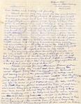 Letter, Virginia Brainard to Dudley, Merl Brainard and family [November 11, 1940]