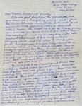 Letter, Virginia Brainard to Dudley, Merl Brainard and family [November 20, 1940]