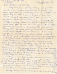 Letter, Virginia Brainard to Dudley and Merl Brainard [January 14, 1941]