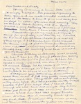 Letter, Virginia Brainard to Dudley and Merl Brainard [March 30, 1941]