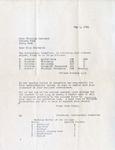 Letter, Iowa State Secretary Scholarship Committee to Virginia Brainard [May 5, 1941]