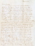 Letter, Virginia Brainard to Dudley Brainard [May 10, 1941]