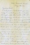 Letter, Nellie Brainard to Merl Brainard [May 11, 1941] by Nellie Brainard