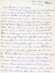 Letter, Virginia Brainard to Dudley and Merl Brainard [September 19, 1941]