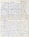 Letter, Virginia Brainard to Dudley and Merl Brainard [October 6, 1941]