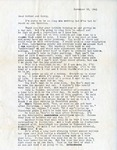 Letter, Virginia Brainard to Dudley and Merl Brainard [November 26, 1941]