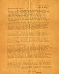 Letter, Virginia Brainard to Dudley and Merl Brainard [December 7, 1941]