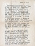 Letter, Virginia Brainard to Dudley and Merl Brainard [January 18, 1942]