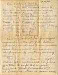 Letter, Virginia Brainard to Dudley and Merl Brainard [Spring, March/April]