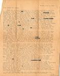 Letter, Virginia Brainard to Dudley and Merl Brainard [November 9, 1942]