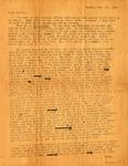 Letter, Virginia Brainard to Family [November 22, 1942]