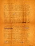 Letter, Virginia Brainard to Dudley and Merl Brainard [November 25, 1942]