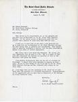 Letter, H. B. Gough to Dudley Brainard [August 8, 1947] by H. B. Gough