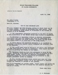 Letter, Dudley Brainard to Mr. Drew Pearson [April 10, 1948] by Dudley Brainard