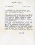 Letter, Dudley Brainard to Virginia Brainard [January 28, 1949] by Dudley Brainard