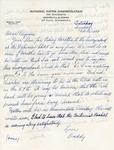 Letter, Dudley Brainard to Virginia Brainard [February 13, 1949] by Dudley Brainard