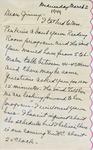 Letter, Merl Brainard to Virginia Brainard [March 2, 1949] by Merl Brainard