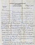 Letter, Merl Brainard to Virginia Brainard [May 15, 1949] by Merl Brainard