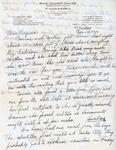 Letter, Dudley Brainard to Virginia Brainard [June 12, 1949]