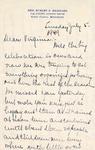 Letter, Merl Brainard to Virginia Brainard [July 5, 1949]