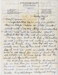 Letter, Dudley Brainard to Virginia Brainard [August 14, 1949] by Dudley Brainard
