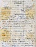 Letter, Merl Brainard to Virginia Brainard [August 15, 1949] by Merl Brainard