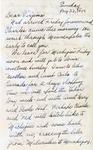 Letter, Dudley Brainard to Virginia Brainard [August 22, 1949]