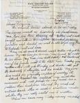 Letter, Dudley Brainard to Virginia Brainard [September 4, 1949]