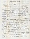 Letter, Dudley Brainard to Virginia Brainard [September 12, 1949] by Dudley Brainard