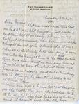 Letter, Merl Brainard to Virginia Brainard [October 20, 1949] by Merl Brainard