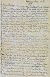 Letter, Merl Brainard to Virginia Brainard [December 12, 1949] by Merl Brainard