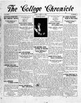 The Chronicle [October 31, 1924]