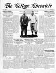 The Chronicle [November 14, 1924 ]