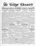 The Chronicle [November 28, 1924]