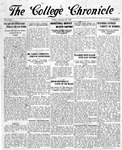The Chronicle [January 16, 1925]