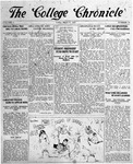 The Chronicle [March 27, 1925]