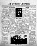 The Chronicle [May 8, 1925]