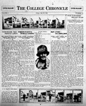 The Chronicle [May 22, 1925]