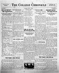 The Chronicle [June 1, 1925]