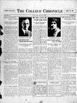 The Chronicle [September 18, 1925]