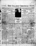 The Chronicle [October 2, 1925]