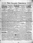 The Chronicle [October 16, 1925]