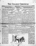 The Chronicle [November 20, 1925]