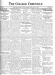 The Chronicle [March 12, 1926]