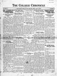 The Chronicle [April 16, 1926]