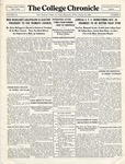 The Chronicle [October 15, 1926]